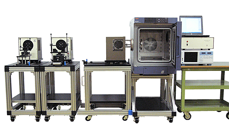 Motor testing in temperature and humidity environment for Dynamometer for motor testing