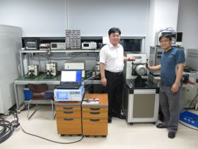 Motor analyzer PC-SAA3, torque meter TB-500KS