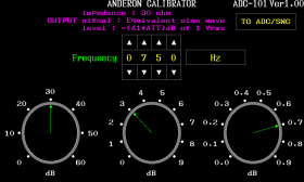 OSC/ATTモード画面