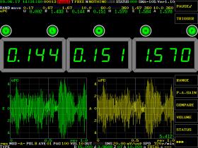 デジタルメータ/波形モード